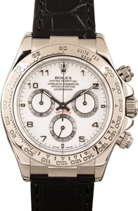 Rolex Daytona 116519 Leather Strap