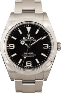 Rolex Explorer 214270 at Bob's Watches