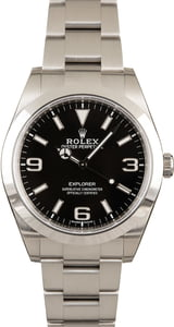 Rolex Explorer 214270 Mark II Arabic Dial