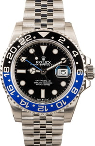 Pre Owned Rolex GMT-Master II Ref 126710 Steel Jubilee 'Batman'