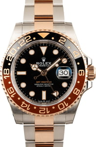 Pre Owned Rolex GMT-Master II Ref 126711CHNR Two Tone Everose