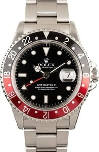Pre-Owned Rolex Coke GMT Master II Ref 16710 T