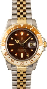 Rolex Vintage GMT-Master 1675 Two-Tone