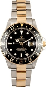 108938 Rolex GMT Master 16753 Two Tone