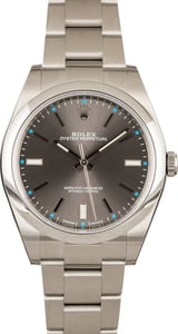 Rolex Oyster Perpetual 114300 Rhodium New Model