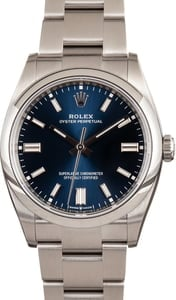 Pre-Owned Rolex 126000 Blue Dial