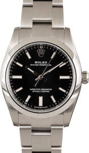 Rolex Oyster Perpetual Black 124200