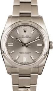 Rolex Oyster Perpetual 116000 Silver