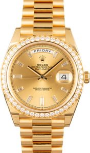Rolex Day-Date II Ref 228348 Diamonds T