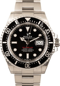 Rolex Sea-Dweller 126600 Black Ceramic Bezel