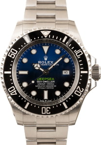 PreOwned Rolex DeepSea SeaDweller 126660 D-Blue Dial 44MM
