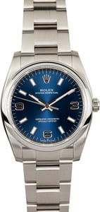 Stainless Steel Rolex Oyster Perpetual 114200