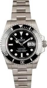 Rolex Submariner Black Ceramic Model 116610