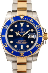 Men's Rolex Submariner 116613 Ceramic Bezel