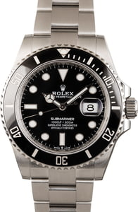 Rolex Submariner Date 126610 Black Ceramic
