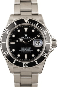 Rolex Submariner 16610 Steel Band
