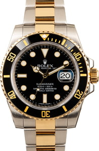 Rolex Submariner 116613 Two-Tone Black Ceramic