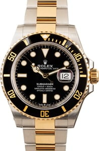 Pre-Owned 41MM Submariner 126613