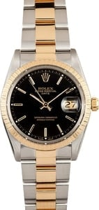Vintage Rolex Date Stainless and Gold - 15003