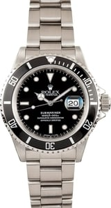 Rolex Submariner Transitional 16800