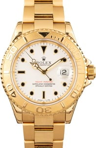 Used Rolex Yachtmaster Yellow Gold 16628