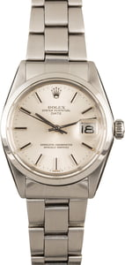 Rolex Date 1500 Vintage Steel Watch