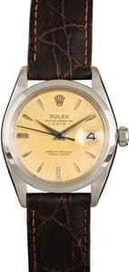 Rolex Oyster Perpetual Date 1500 Steel