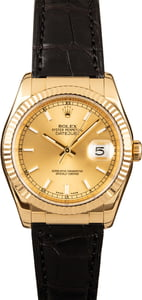 Rolex Datejust 116138 Leather