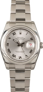 Rolex Datejust 116200 Silver Dial Stainless Steel