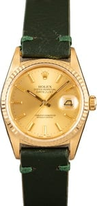 Rolex 16018 Yellow Gold Datejust