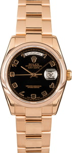 Rolex Day-Date 118205 18k Rose Gold