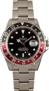 Rolex GMT Master II 16710 Coke 100% Authentic