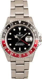 Rolex GMT Master II 16710 Coke Bezel 100% Authentic