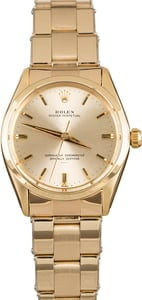 Rolex Oyster Perpetual 1002 Yellow Gold