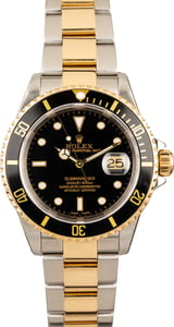 Rolex Submariner Two-Tone 16613 Black Watch
