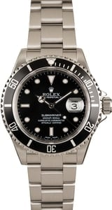 Submariner Rolex 16610 Black