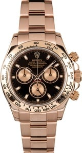 Rose Gold Daytona 116505 Certified Pre-Owned