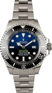 Rolex Deepsea Blue 116660 Factory Stickers