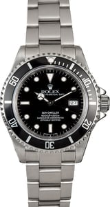 Sea-Dweller Rolex 16600 Black