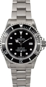 Sea-Dweller Rolex 16600 Black Dial