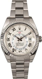PreOwned Sky-Dweller Rolex 326939 White Gold