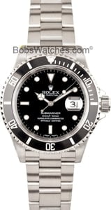 Pre-Owned Rolex Steel Submariner 16610