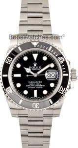 Rolex Submariner Ceramic Model 116610, Black Dial