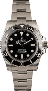 Pre Owned Submariner Rolex 114060 Ceramic Insert