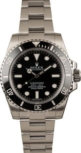 Used Submariner Rolex 114060