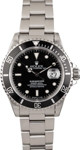 PreOwned Rolex 40MM Submariner 16610