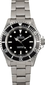 Submariner Rolex No Date 14060 Oyster Band