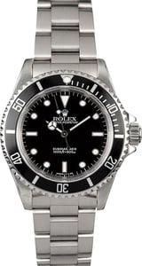 Submariner Rolex No Date 14060 Steel