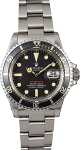 Submariner Rolex Red 1680