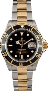 Submariner Rolex Two-Tone 16613